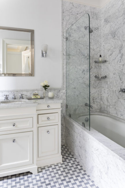 Ann Baumgartner Design bathroom